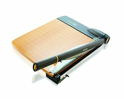 Wood Guillotine Paper Trimmer 12 Cutter 30 Sheets Capacity Office School New