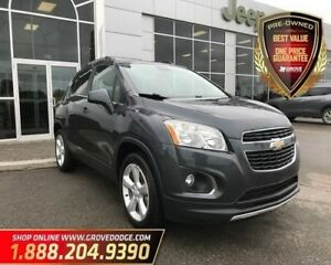 2015 Chevrolet Trax LTZ| AWD| Leather| Sunroof| Remote Start