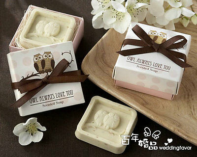 20PCS Wedding Favors Party Gifts Baby Shower Owl Soap For Guests Souvenirs (Baby Shower Party Gifts For Guests)