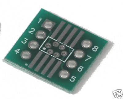 Soic Adapter Boards So-8 Smt To 8-pin Dip Set Of 3