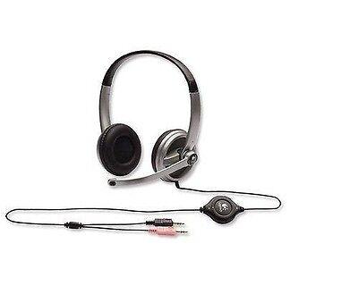 Logitech 980369 Premium STEREO Headset with BOOM Microphone & Volume Control segunda mano  Embacar hacia Mexico