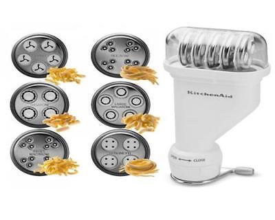 Kitchenaid 5KPEXTA Nudelvorsatz Röhrennudelaufsatz -Set Nudelmaschine NEU & OVP