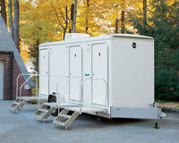 mobile restroom rental, not your typical porta potty