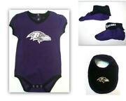 Baltimore Ravens Baby Clothes