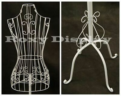 Female Metal Wire Form With Antique Metal Base Ty-xy2302w