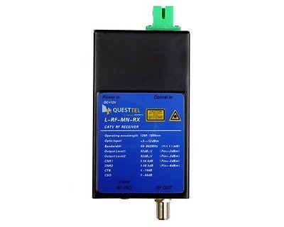 CATV RF Optical Receiver 1310-1568 nm 45 - 862  MHz RF OVER FIBER