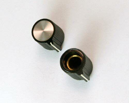"PKJ50B 1/4"" ALCO knob plastic Pointer"