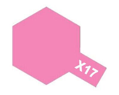Tamiya 81517 Glossy Acrylic Paint X17 Rose 10ml Modélisme