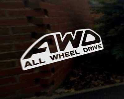 AWD 4x4 Car Decal Sticker Land Cruiser Jeep Jimny Vitara Kuga CR-V RAV4