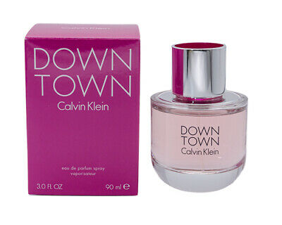 Downtown by Calvin Klein 3.0 oz EDP Perfume for Women New In Box