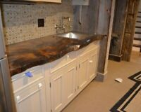 Wood Working Services-Live Edge Counter Tops, Islands & Tables!