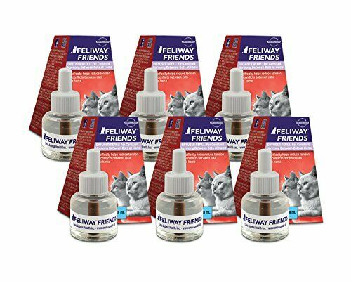 Feliway MULTICAT Diffuser - SET OF 6  New 48 mL 30 Day Refills x 6 = 180 days