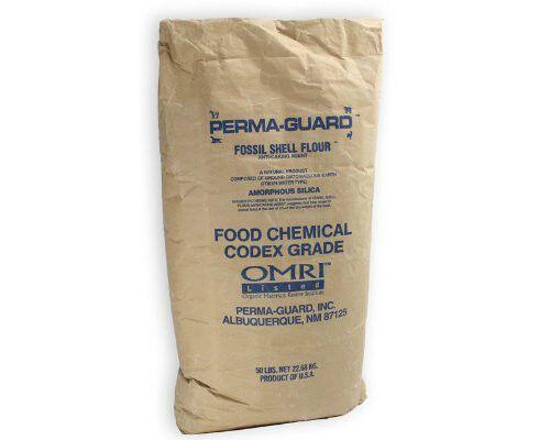 2 lb Perma-Guard Food Grade Diatomaceous Earth Green No Additives 100% DE