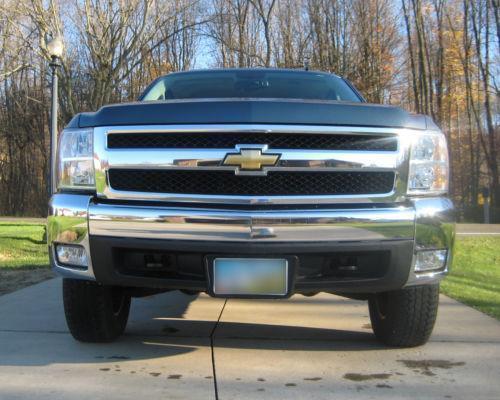 silverado chrome front bumper ebay