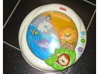 Fisher Price crib/cot light & sound soother