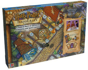 Harry Potter Diagon Alley Board Game by Mattel SEALED NEW IN BOX