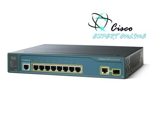 Cisco 3560 8pcs Ws-c3560-8pc-s 8 Port Ethernet 10/100 Catalyst Switch