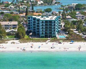 2 Bedroom 2 Bathroom BEACH FRONT Condo - Indian Rocks Beach, FL