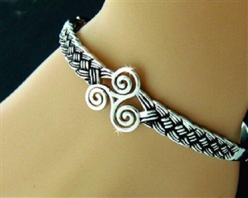Triskele Celtic bracelet