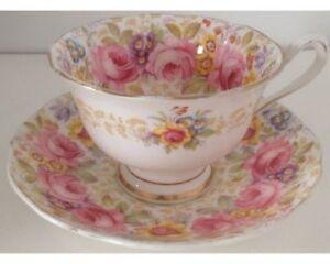 Ad1- Vintage Royal Albert Cups & Saucers - $15.00 +