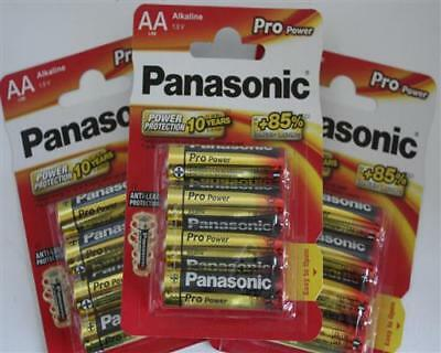 48 Stück Panasonic Pro Power Mignon AA LR6 Batterie