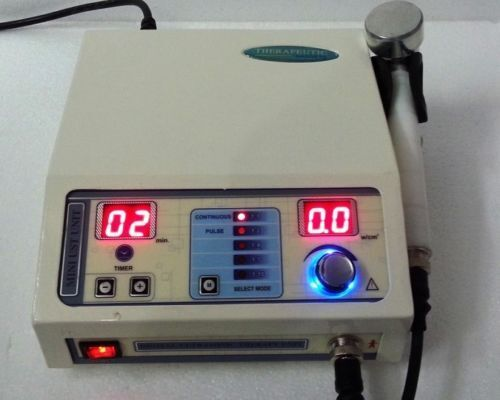 NEW Prof  Ultrasound Therapy Unit 1 Mhz Lymphatic Drainage with Machine