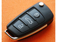 AUDI A3 3 BUTTON REMOTE KEY CUT AND CODED PROGRAMMING 1.9 TDI 2.0 TDI RS3 TFSI SLINE SPORT 2.0T
