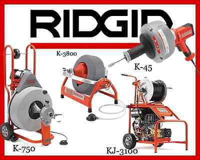 Ridgid K-750 42007k-3800 53117 K-45-136013 Kj-310037413