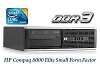 Windows 7 HP Dual Core 5.20Ghz Desktop Tower PC Computer - 2GB RAM - 160GB HDD