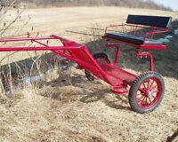 Roberts horse size training cart