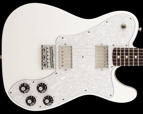 Fender Telecaster Deluxe White | eBay