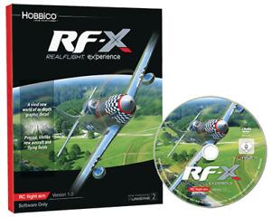 Simulateur Realflight X RF-X (logiciel seulement) GPMZ4548