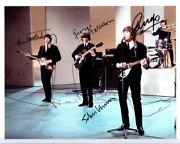 Beatles Signed Photo