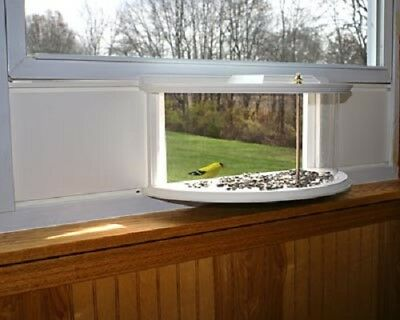 CLEARVIEW WINDOW BIRD FEEDER by A WING & A PRAYER