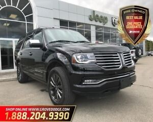 2017 Lincoln Navigator 4X4|Leather| Sunroof| Remote Start| Low K