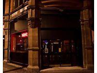Northern Quarter bar group after bar managers/bar tenders/bar backs