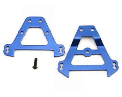 Anodized Aluminum Rear Bulkhead (Traxxas TRA5323 Bulkhead tie bars front & rear (blue-anodized aluminum) )