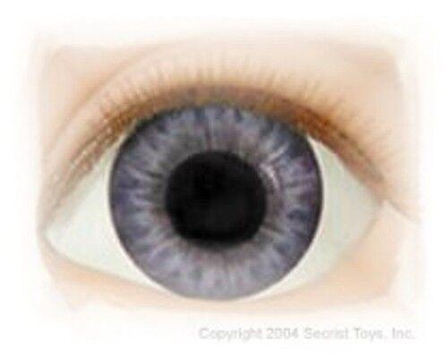 REBORN DOLLS Half Round Real Eyes 26mm Dark Brown ~ REBORN DOLL SUPPLIES