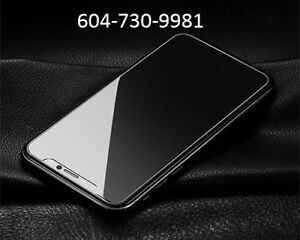Iphone X / 8/ 8+ tempered galss, only $10 and FREE installation
