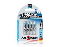 Blister 4 Batterie Ricaricabili Ministilo Aaa 1000 Mah Maxe Ansmann Cod. 5030882 -  - ebay.it