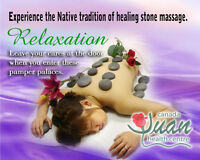 Vichy shower,massage,acupuncture,reflexology.herbal medicine.