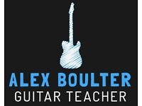 Guitar Lessons in Brighton, Hove & Portslade - Guitar Teacher Alex Boulter