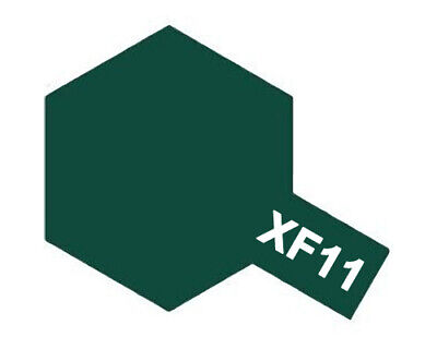 Tamiya 81711 Mate Acrylic Paint XF11 J. N. Verde 10ml Modelismo
