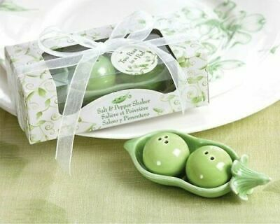 Two Peas In A Pod Party Supplies (Two Peas in a Pod Ceramic Salt & Pepper Shaker  -  Kate Aspen   -   Baby Shower)