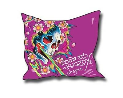 Ed Hardy Beautiful Ghost (Ed Hardy Kissenbezug Beautiful Ghost 60x60cm)