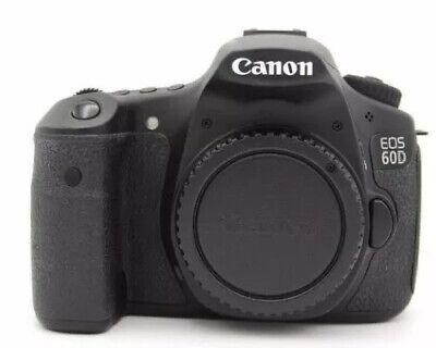 Canon 60D 18.0 MP Camera Body Good Condition 32GB