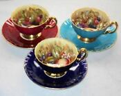 Cobalt Blue Cup and Saucer