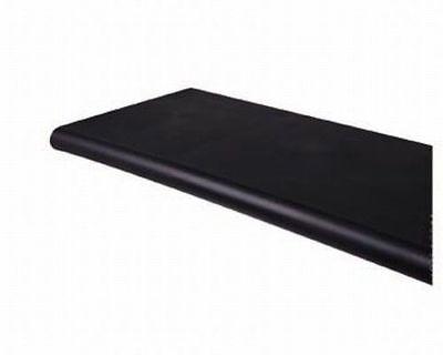 Black Bullnose Plastic Shelf - For Gridwall Or Slatwall - 13 X 24 - 2 Pk