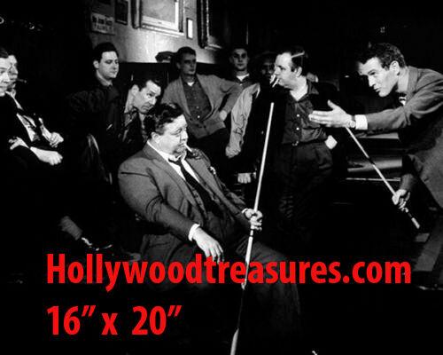 Paul Newman~The Hustler~Billiards~Shooting Pool~Playing Pool~Photo~Poster 16x20