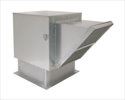 Untempered Make-up Air Supply Unit - 800 To 2500 Cfm With Speed Control